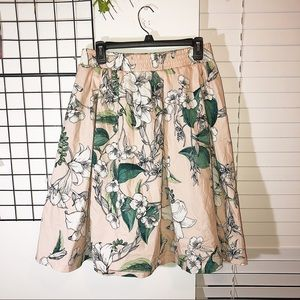 Cynthia Rowley | Full Floral Skirt
